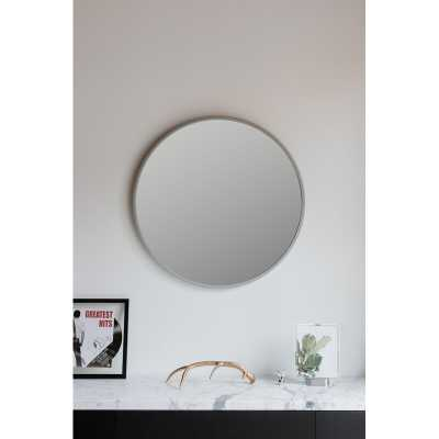 "Hub Accent Mirror - 37"" D grey - Wayfair"