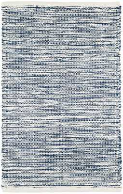 TIDELINE NAVY INDOOR/OUTDOOR RUG, 3'x5' - Dash and Albert