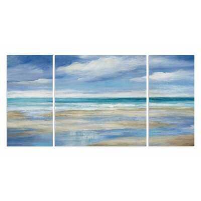 Washy Coast I Acrylic Painting Print Multi-Piece Image on Gallery Wrapped Canvas - Wayfair