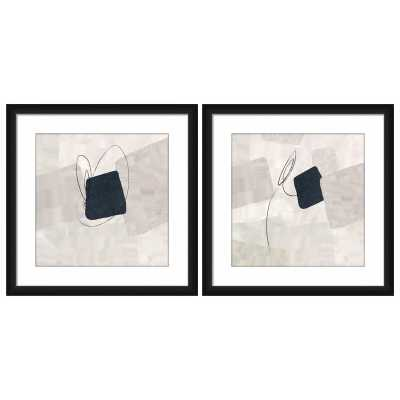 Vertigo Ii - 2 Piece Picture Frame Graphic Art Print Set on Plastic/Acrylic Vertigo Ii - 2 Piece Picture Frame Graphic Art Print Set on Plastic/Acrylic Vertigo Ii - 2 Piece Picture Frame Graphic Art Print Set on Plastic/Acrylic  Vertigo Ii - 2 Piece Pictu - AllModern