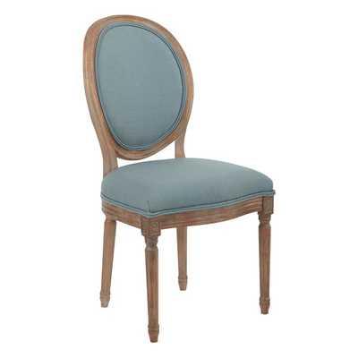 Haleigh Oval Back Upholstered Dining Chair- Klein Sea - Wayfair