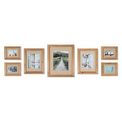 Sharleen 7 Piece Gallery Picture Frame Set - Wayfair