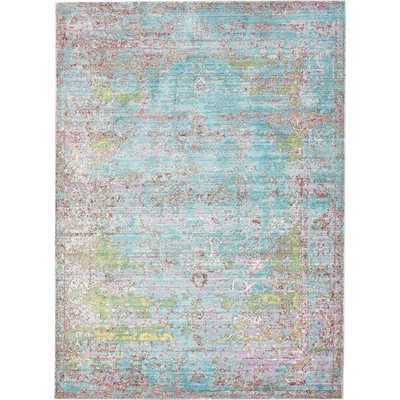 Hajeb Abstract MultiColor Area Rug - Wayfair