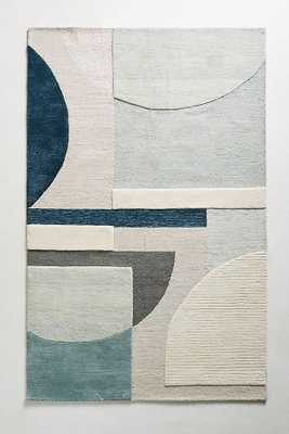 Abstract Geometry Rug - Anthropologie