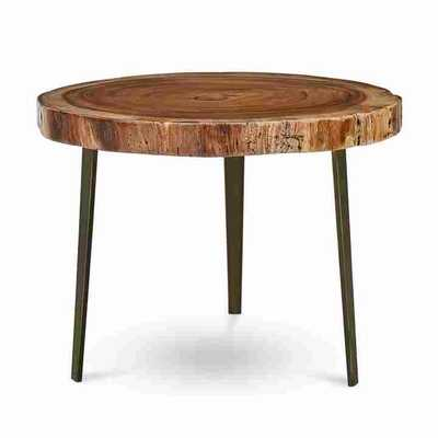ZEKE SIDE TABLE, BRONZE - Curated Kravet