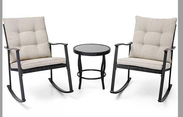 Deodhar 3 Piece Seating Group with Cushions - Wayfair