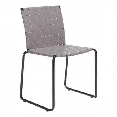 Beckett Dining Chair Light Gray, Set of 4 - Zuri Studios