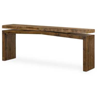 "Henn 78.75"" Solid Wood Console Table - Perigold"