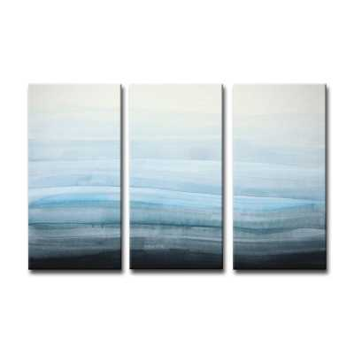 Coastal Mist by Norman Wyatt Jr. - 3 Piece Wrapped Canvas Print Set - Wayfair