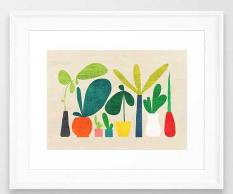 Greens Framed Art - Society6