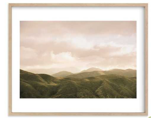 "hazy mountain high 16x20"" - Minted"