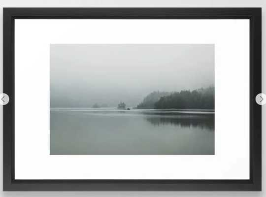 Fog - Landscape Photography Framed Art Print - Society6