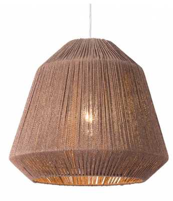 Impala Ceiling Lamp Brown - Zuri Studios
