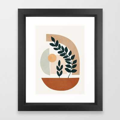 471 Soft Shapes III Framed Art Print by City Art - Society6