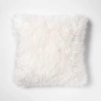 Mongolian Faux Fur Throw Pillow - Project 62™ - Target