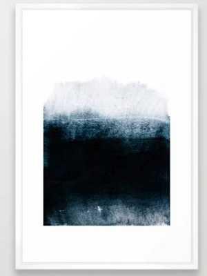 into the deep Framed Art Print by Iris Lehnhardt - Society6
