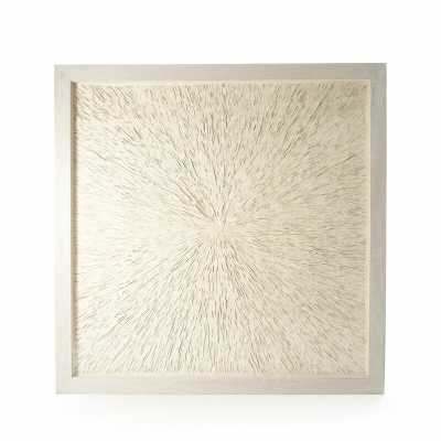 Abstract Paper Framed Art Wall Decor - Perigold