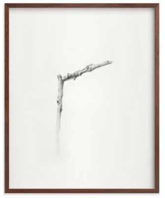 "Twig- Solitude 01, 16"" x 20"", walnut frame - Minted"