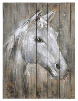 Dreamhorse, Hand Painted Canvas - Hudsonhill Foundry