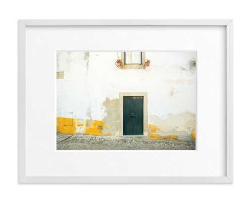 """óbidos  - 18"""" x 24""""-  white wood frame, white border - Minted"""