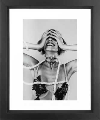 Behind the Madness Framed Art Print - Society6