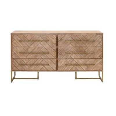 Parfondeval 6 Drawer Double Dresser - Wayfair