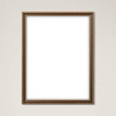 "Astoria 1.28"" Wide Ornate Picture Frame - Wayfair"