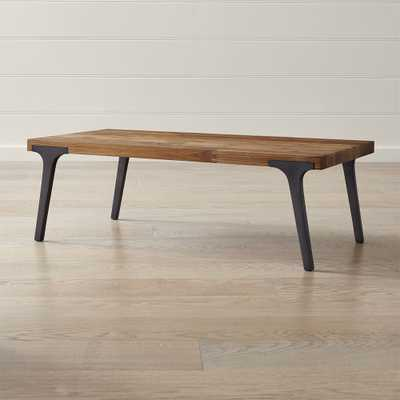 Lakin Recycled Teak Coffee Table - Crate and Barrel