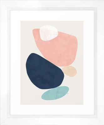 """Karu Framed Art Print by Maboe - 10x12"""", vector white frame - Society6"""