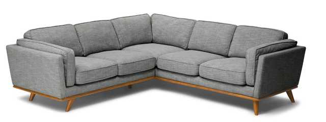 Timber Pebble Gray Corner Sectional - Article