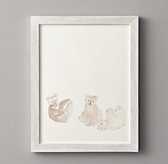 WATERCOLOR ANIMAL ILLUSTRATION - BEAR - RH Baby & Child