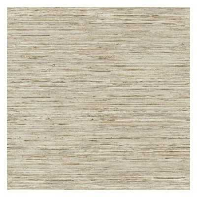 Faux Weave Grasscloth Peel and Stick Wallpaper - York Wallcoverings