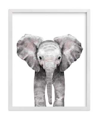 Baby Animal Elephant Art Print 11x14 - Minted