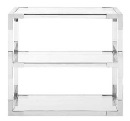 Aresford Acrylic End Table - Wayfair