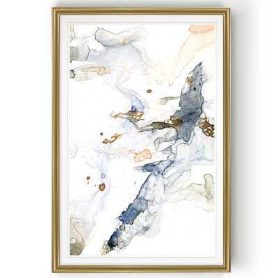 'Organic Interlace I' - Painting Print on Canvas - Wayfair