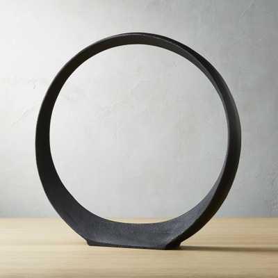 Large Metal Ring Sculpture - CB2