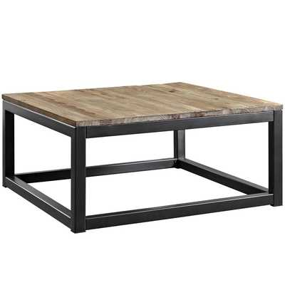 Attune Coffee Table in Brown - Modway Furniture