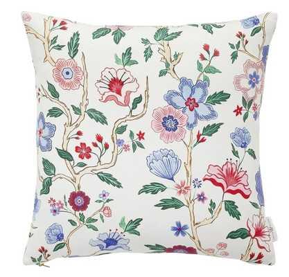 "Mandarin Lily Pillow 20"" x 20"" - Caitlin Wilson"