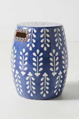 Griffin Ceramic Stool - Anthropologie