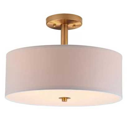 Jaida 3-Light Semi Flush Mount - Wayfair