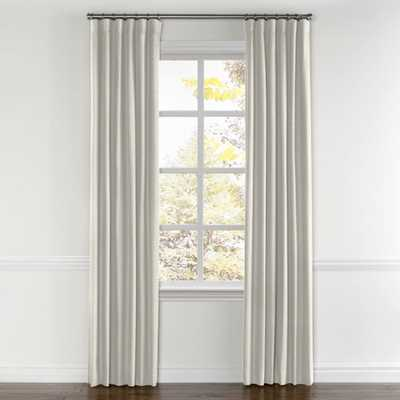 Convertible Drapery - Classic Linen - Heathered Flax, Unlined - double panel set of two - Loom Decor