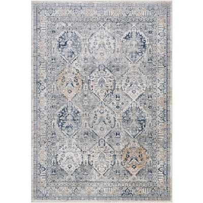 "Harper Rug, 5'3""x 7'3"", Gray - Cove Goods"
