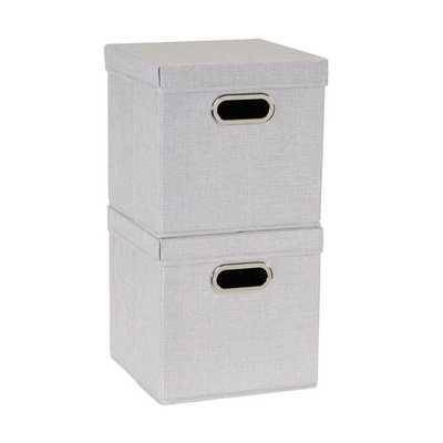 Fabric box Set of 2 - Wayfair