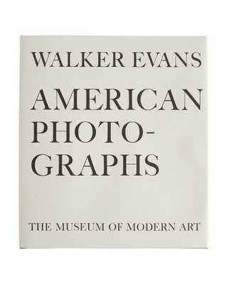 WALKER EVANS: AMERICAN PHOTOGRAPHS - McGee & Co.