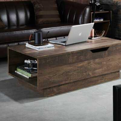 Colten Lift Top Block Coffee Table - Wayfair