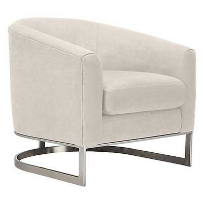 Jax Accent Chair - Bella Pearl - Z Gallerie