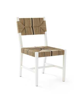 Carson Side Chair - White - Serena and Lily