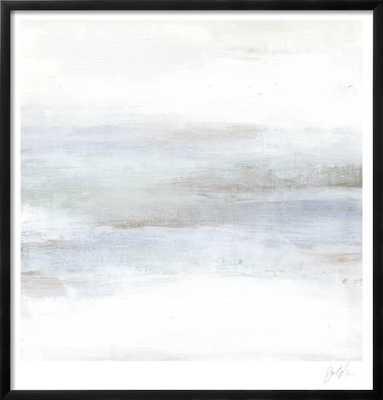 "Cape Horizon II - 26"" x 26""- CHELSEA Black - 0.75"" Wide - art.com"