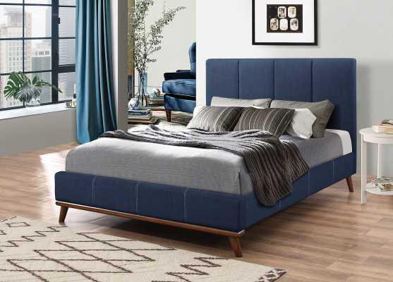 Bainum Upholstered Panel Bed - Wayfair