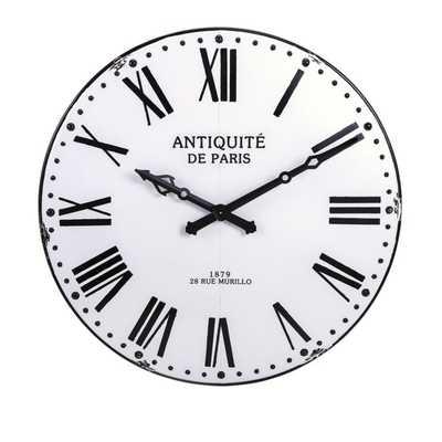 Lexington Wall Clock - Mercer Collection